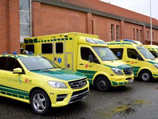 foa overenskomst ambulance
