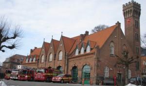 Hovedbrandstationen i Aarhus. Arkivfoto: John Høck