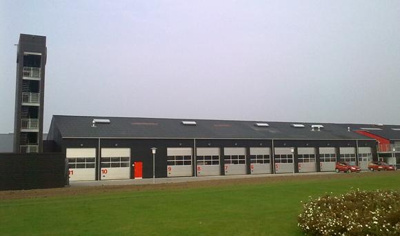 Brandstationen i Middelfart. Arkivfoto: Michael G. Madsen