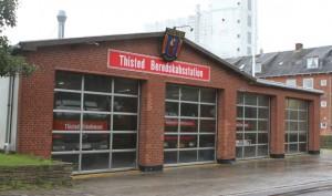 Brandstationen i Thisted. Arkivfoto: Rasmus Skaftved