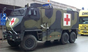 Duro ambulance. Arkivfoto: Bo Sass