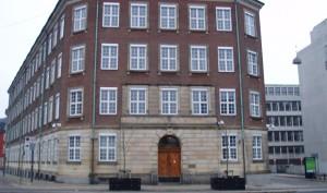 Forsvarsministeriet i København. Arkivfoto: EPO