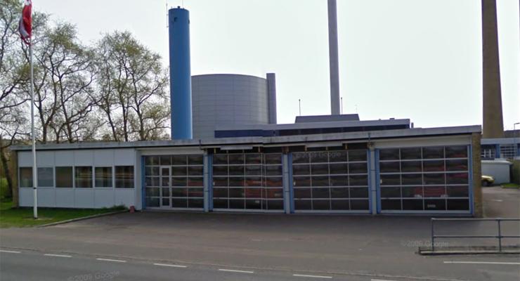 Frederikssund brandstation. Foto: Google Maps
