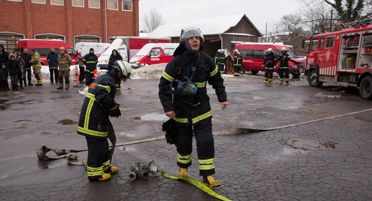 Arkivfoto: Brandkadetter i Danmark