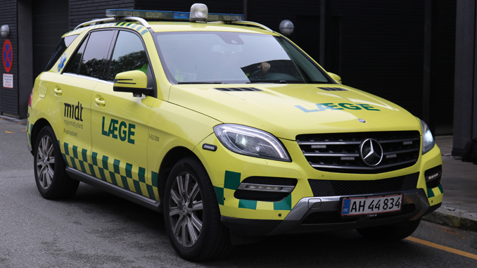 Ambulancer – Akutlægebil