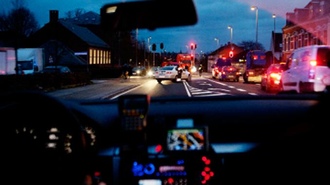 Politi – Udrykningskørsel
